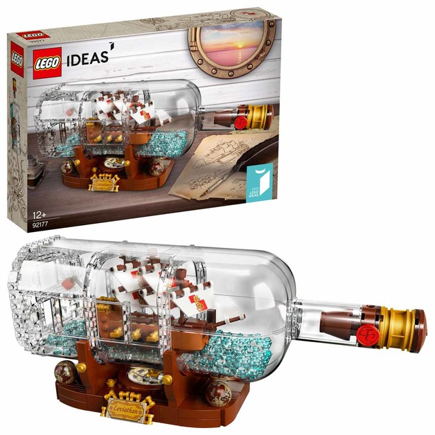 Lego Ideas: Ship in a Bottle (92177)