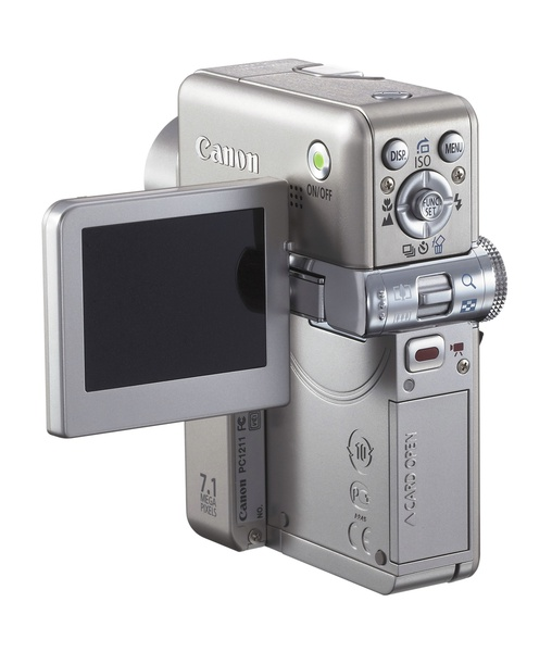 Canon TX1 7.1Mp 10x Optical Zoom Digital Camera + 1Gb Sd Card and Carry Case image