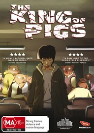 The King of Pigs on DVD image