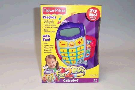 Fisher Price Fun 2 Learn Calcubot