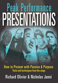 Peak Performance Presentations by Richard Olivier image