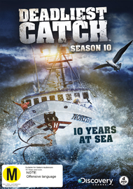 Deadliest Catch - Season 10 on DVD