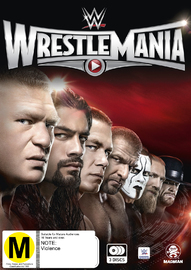 WWE: Wrestlemania 31 on DVD