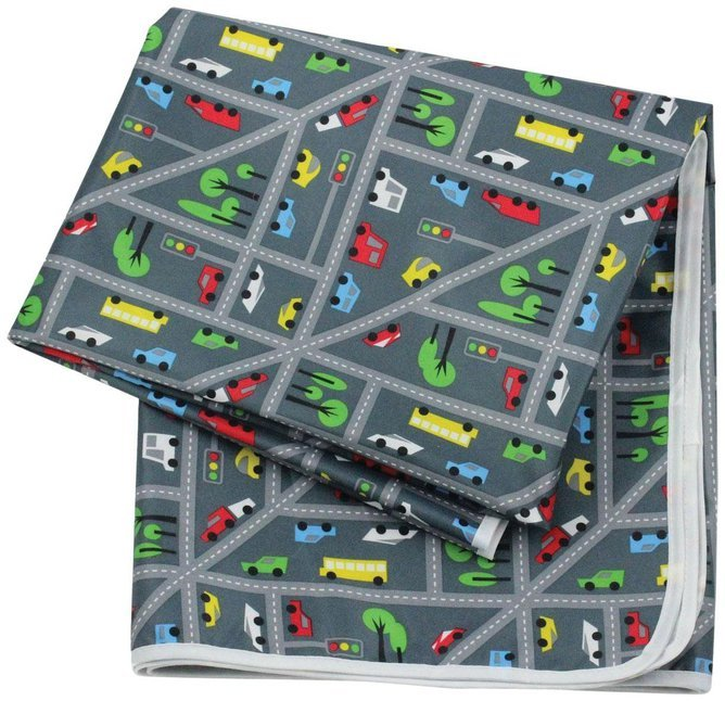 Waterproof Splat Mat - Traffic image