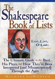 The Shakespeare Book of Lists, Second Edition by Michael Lomonico image