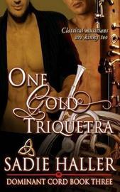 One Gold Triquetra by Sadie Haller