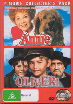 Annie (1982) / Oliver! - 2 Movie Collector's Pack (2 Disc Set) on DVD