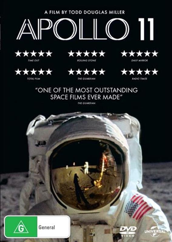 Apollo 11 on DVD