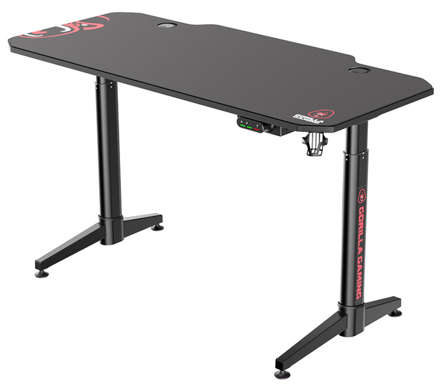 Gorilla Gaming Height Adjustable Desk - ICON for
