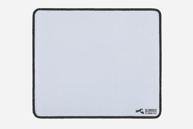 Glorious PC Gaming Mouse Pad - XL Heavy (White) for PC