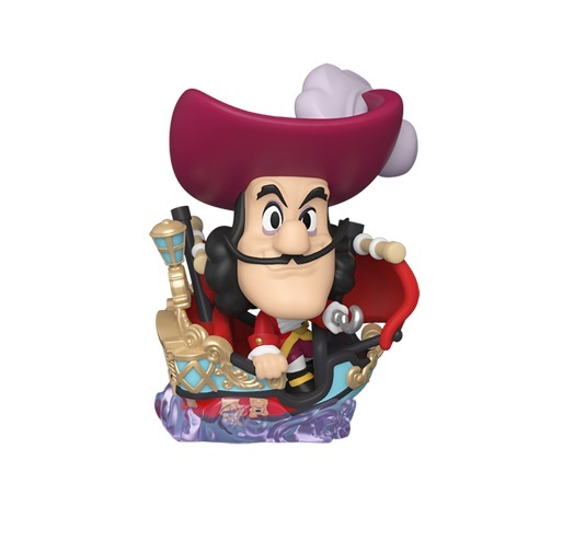 Disneyland: Captain Hook in Boat - Mini Vinyl Figure