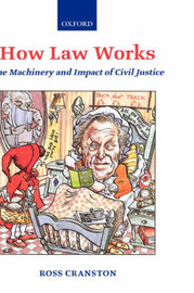 How Law Works by Ross Cranston