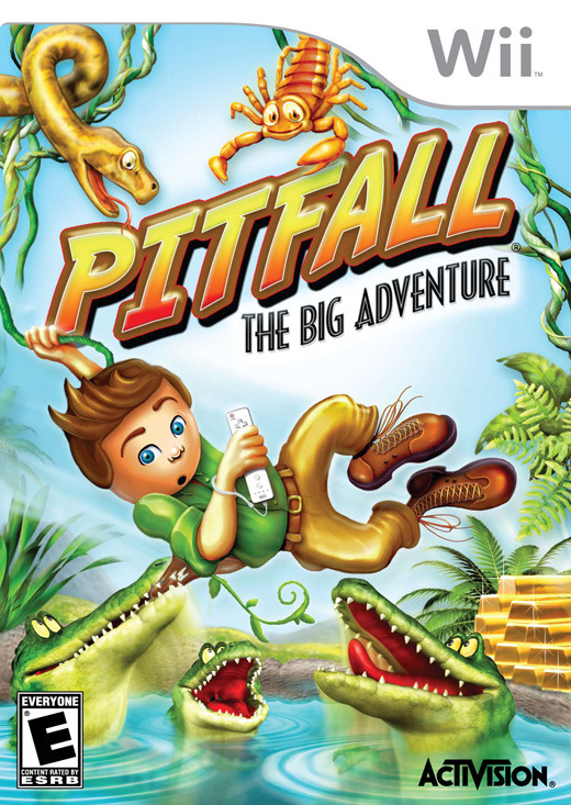 Pitfall: The Big Adventure for Nintendo Wii