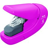 Plus Staple-Free Stapler - Pink