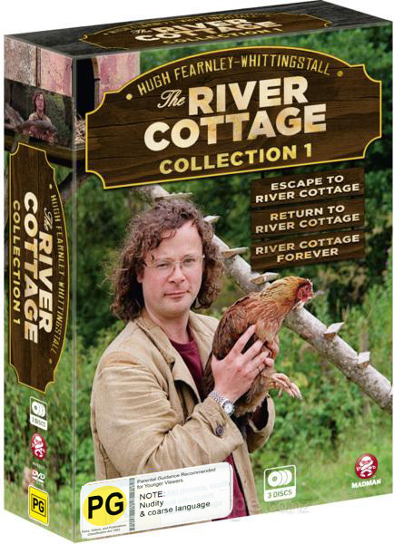 The River Cottage - Collection 1 Box Set on DVD image