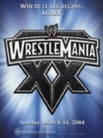 WWE - Wrestlemania XX (3 Disc Box Set) on DVD