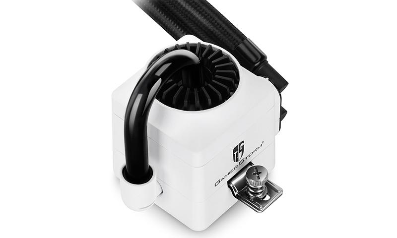Deepcool Gamer Storm Captain 240EX AIO Liquid Cooling - White image