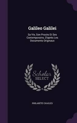 Galileo Galilei by Philarete Chasles image