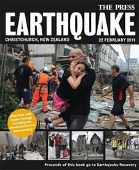 Earthquake - Christchurch 22 Feb 2011 (Book + DVD) by The Press