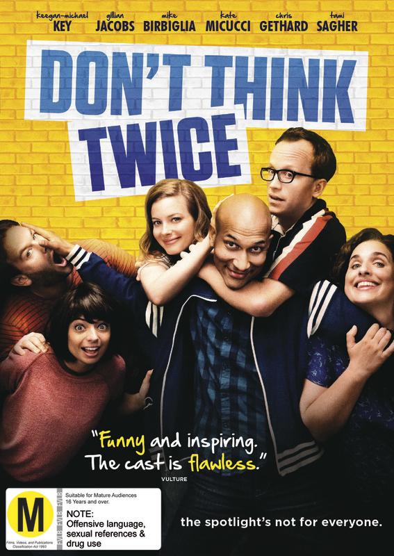 dont think twice movie cast