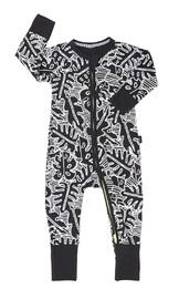 Bonds Zip Wondersuit Long Sleeve - Leaf (12-18 Months) image
