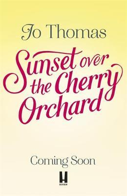 Sunset over the Cherry Orchard by Jo Thomas