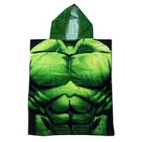 Marvel Avengers Poncho - Hulk