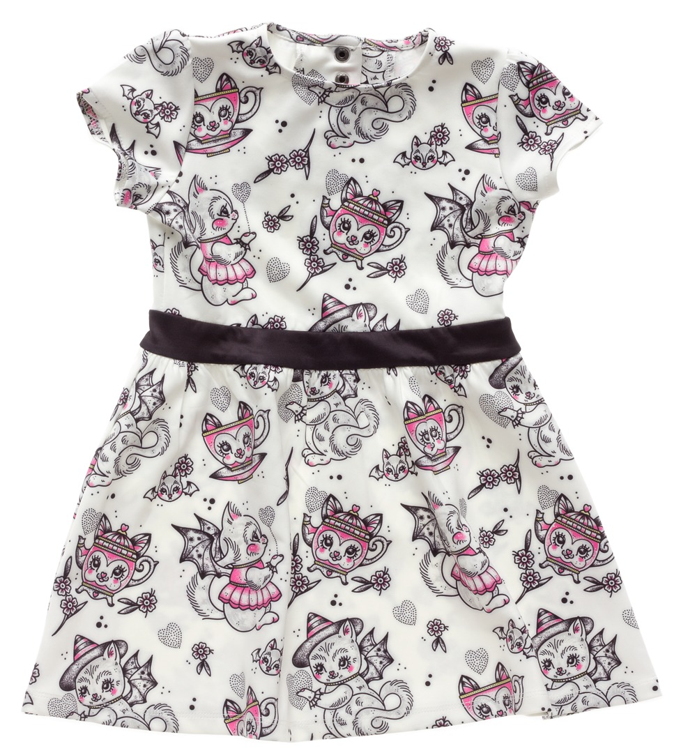 Sourpuss Creep Heart Dress (Size 6) image