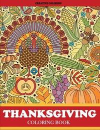 Thanksgiving Coloring Book by Creative Coloring