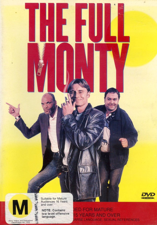 The Full Monty on DVD image