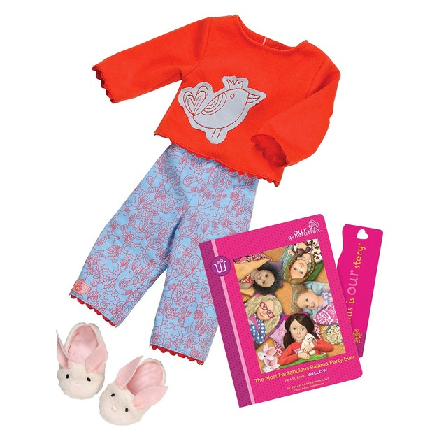 Our Generation: Read & Play Set - Willow's Pyjama Outfit