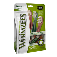 Whimzees: Toothbrush Star- M 12/Pack Value Bag