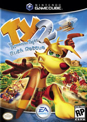 TY the Tasmanian Tiger 2 for GameCube