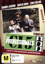 The Professionals - Dossier 4 (4 Disc Box Set) on DVD image