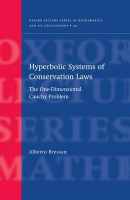 Hyperbolic Systems of Conservation Laws by Alberto Bressan