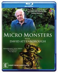 David Attenborough: Micro Monsters on Blu-ray