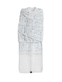 Mum 2 Mum Summer DreamSwaddle Large - Blue Bubbles