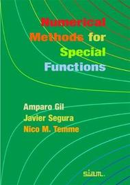 Numerical Methods for Special Functions by Amparo Gil image