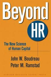 Beyond HR by John W. Boudreau