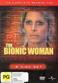 The Bionic Woman - Complete Season 2 (6 Disc Set) on DVD image