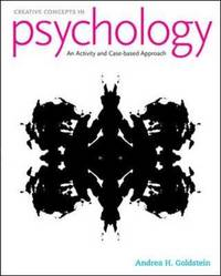 Creative Concepts in Psychology: Case Studies and Activities by Andrea Goldstein image