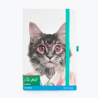 Mustard: Go Wild A5 Notebook - Courtney Cat