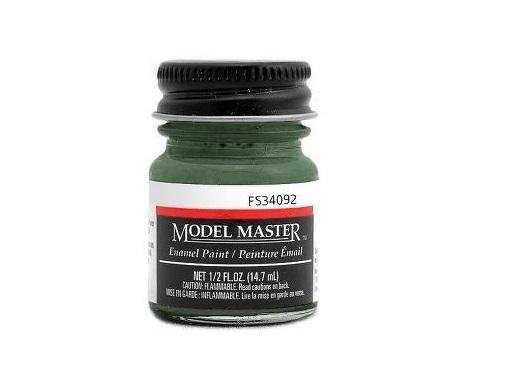 Testors: Enamel Paint - Euro Dark Green (Flat)