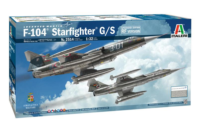 Italeri 1/32 TF-104G Starfighter (Upgrade Ver.) - Scale Model Kit image