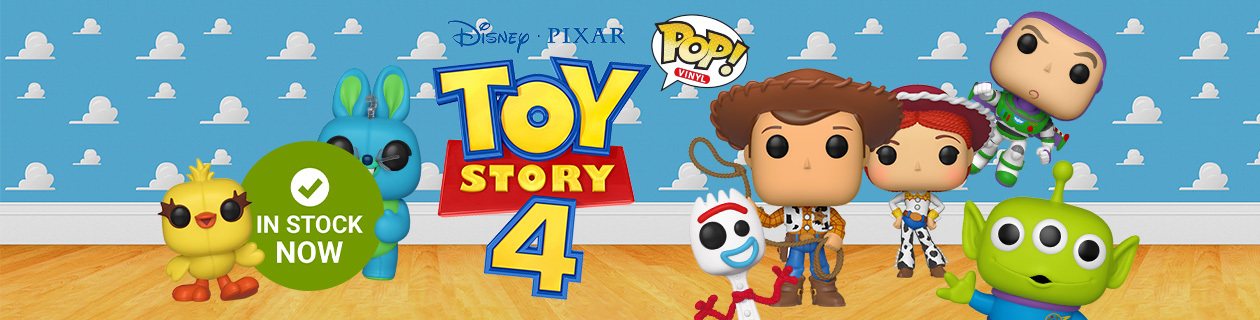 Toy Story 4 Pop! Vinyls! Shipping Now