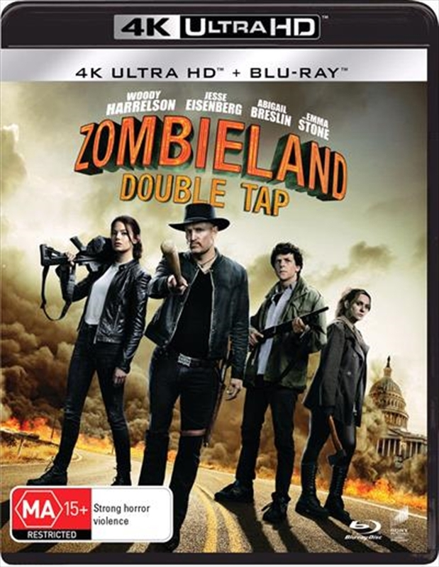 Zombieland: Double Tap (4K UHD) on UHD Blu-ray