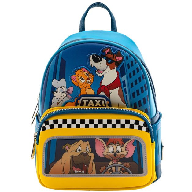 Loungefly: Oliver and Company - Taxi Ride Mini Backpack