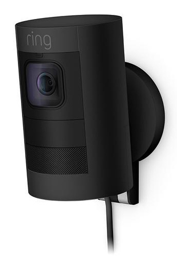 Ring Stick Up Camera Wired Camera - Black