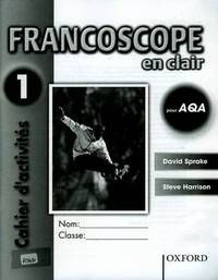 Francoscope en Clair pour AQA: Workbook 1 by David Sprake image