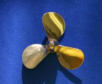 "Bronze 2"" Propeller 3 Blade - Right"
